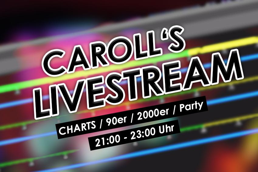 Carolls Frohnlach Livestream